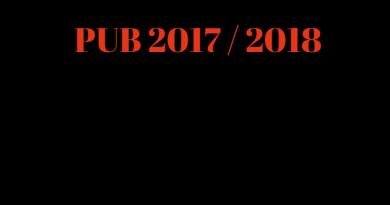 PUB: Programa Unificado de Bolsas (Edital 2017-2018)