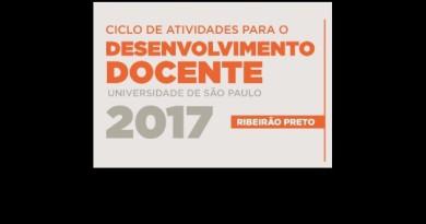 Atenção: Programação do CAD em Ribeirão Preto para segundo semestre de 2017