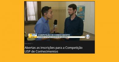 """""""Bom Dia SP – Globo"""" Inscrições na Competição USP de Conhecimentos de 11/3 até 12/4"""