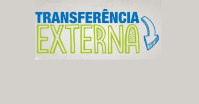 Transferência externa – Informações