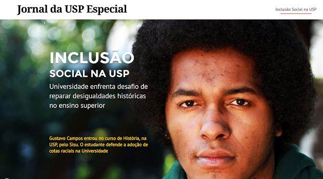 INCLUSÃO SOCIAL NA USP – Jornal da USP Especial