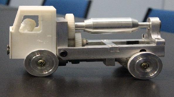 EESC – Alunos constroem protótipo de caminhão betoneira como avaliação de disciplina
