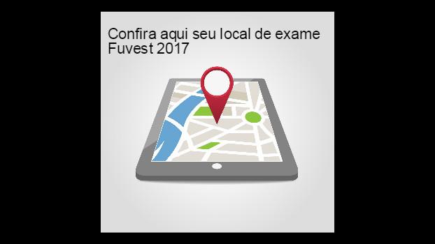 FUVEST 2017 – locais de exame de 1ª Fase