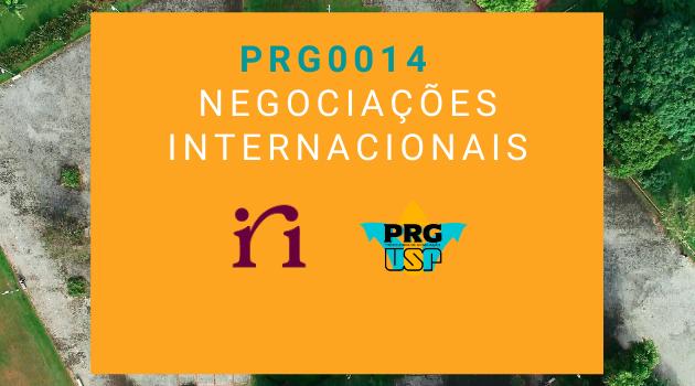 PRG0014  – Negociações Internacionais