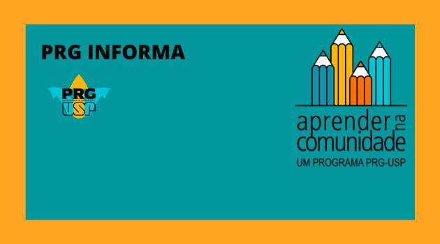 ATENÇÃO: Prorrogação do Prazo de Inscrição Programa Aprender na Comunidade(5/10)